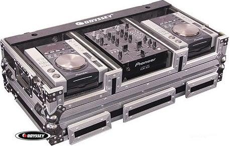 """DJ Coffin (for 10"""" Mixer & 2 Medium CD Players)"""