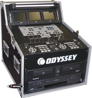 Triple-Combo A/V & DJ Rack