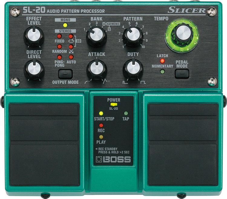 Boss SL20 Slicer Guitar Audio Processor Pedal SL20
