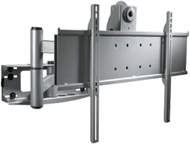 "Articulating Arm for Flat Panel (for 32""-50"" Screens, Gloss Black)"