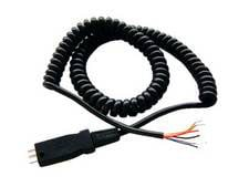 Cable for DT 190 and DT290 Series with Free Ends, Coiled, 1.5m