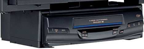VCR Mount (Standard Hardware)