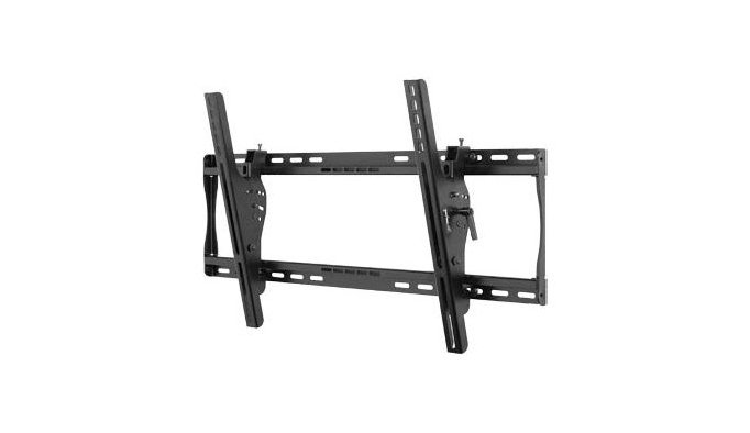 """Tilting Wall Mount for Medium to Large 39"""" - 75"""" LCD and Plasma Screens, with Security Hardware, Black"""