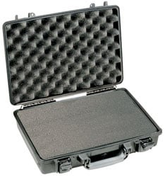 Large Laptop Case with Foam Interior