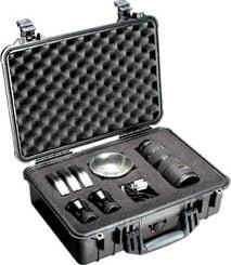 Medium Silver Case with Foam Interior