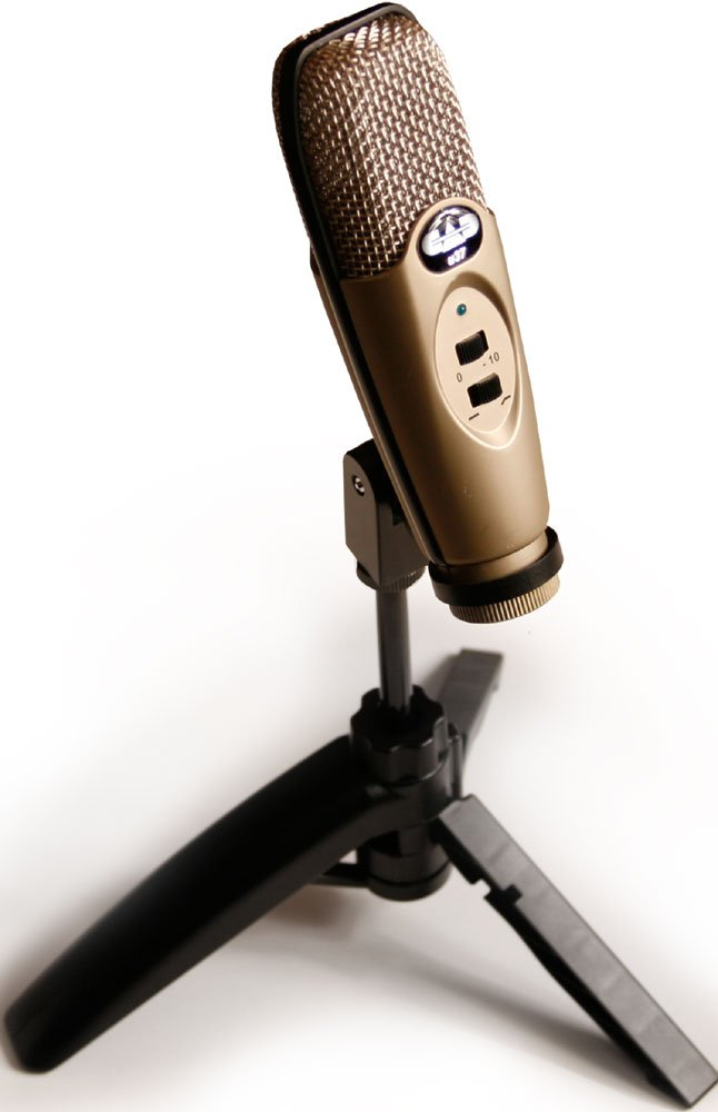 cad audio u37 usb condenser microphone full compass. Black Bedroom Furniture Sets. Home Design Ideas