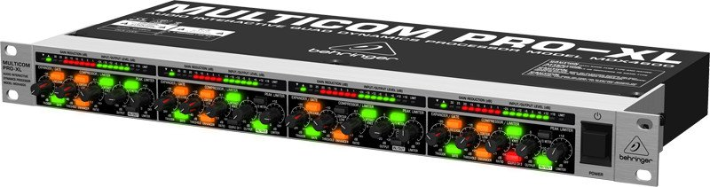 4-Channel Expander/Gate/Compressor/Peak Limiter with Dynamic Enhancer and Low Contour Filter