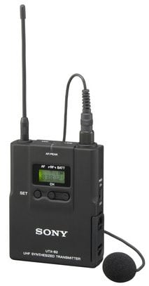 Bodypack Transmitter with Uni-Lapel Mic