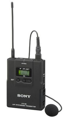 Bodypack Transmitter with Uni-Lapel Mic