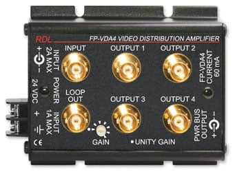 Video Distribution Amplifier