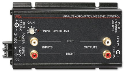 Single-Channel Stereo Automatic Level Control