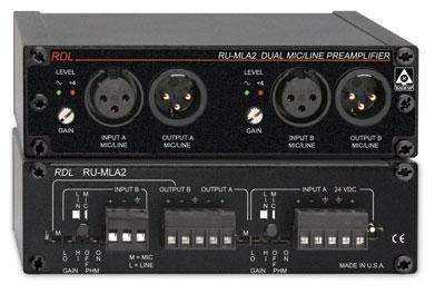 Dual Mic/Line Preamplifier