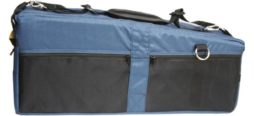 Quick-Draw Camera Case in Blue for Ikegami, JVC, Panasonic & Sony Camcorders