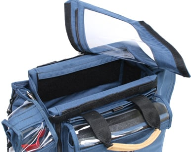 "Porta-Brace AO-1.5X Audio Organizer Case (12 x 6.5 x 7"" Interior) AO-1.5X"