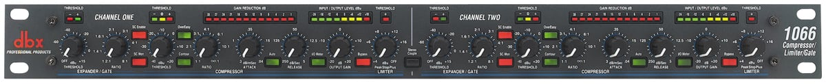 Stereo Compressor / Limiter / Gate