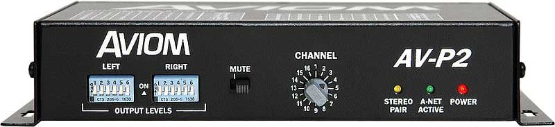 2 Channel Line Level Output Module for Pro16 A-Net
