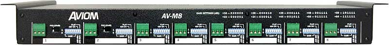 8 Channel Mic Input Module for Pro16 System