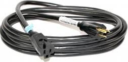 25 ft. Electrical Extension Cord (14 Gauge, 3-Conductor, Black)