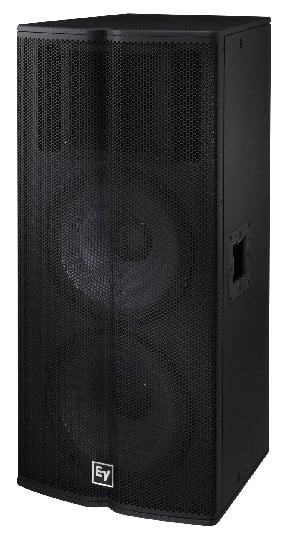"""1000W Dual 15"""" 2-way Passive Speaker with a 60x40 horn"""