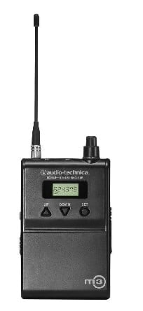 Bodypack Receiver for M3M Wireless In-Ear Monitor System