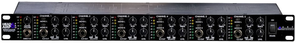 6 Channel Headphone Amplifier