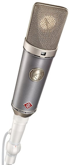 Multipattern Microphone with K67 Capsule and Wood Box in Dual Tone Finish