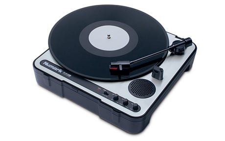 Portable USB Turntable with Software