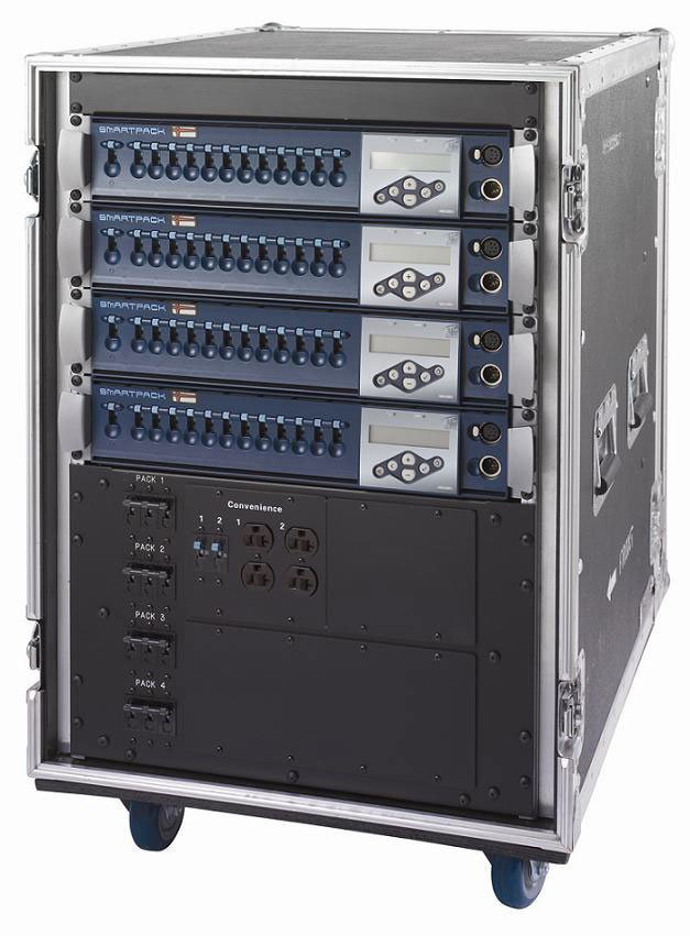 ETC/Elec Theatre Controls 2XSL1210-MT 12 Channel SmartPack Touring System with 20 Amps Per Channel 2XSL620-MT