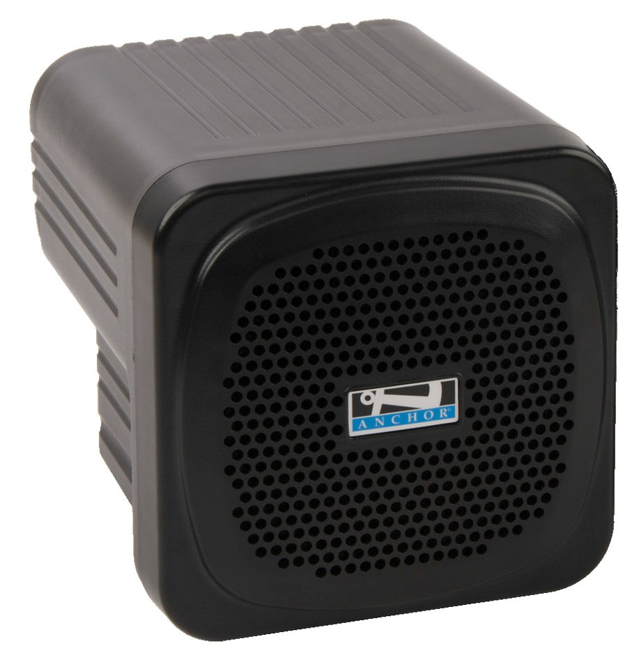 "Mini Portable 30 Watt Sound System with 4.5"" Neodymium Speaker in Black"