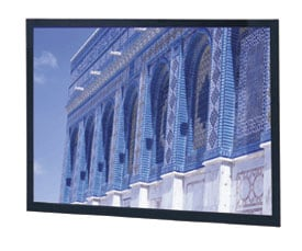 """144"""" x 192"""" Da-Snap® Da-Tex™ (Rear Projection) Screen"""