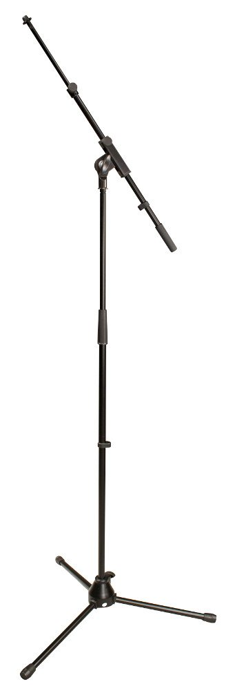 Tripod Microphone Stand with Telescoping Boom