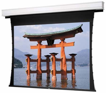 "58"" x 104"" Tensioned Advantage Electrol® High Contrast Da-Mat™ Screen"