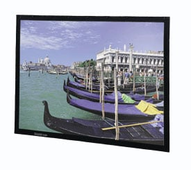 "45"" x 80"" Perm-Wall High Contrast Cinema Perf Screen"