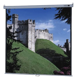 "96"" x 96"" Model B® High Contrast Matte White Screen"
