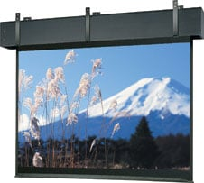 "78"" x 139"" Professional Electrol® Matte White Screen"