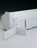 Set of White Floating Mounting Brackets for Cosmopolitan® Screens