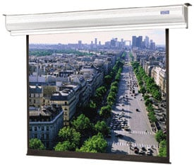 """78"""" x 139"""" Contour Electrol® Matte White Screen with Low Voltage Control"""
