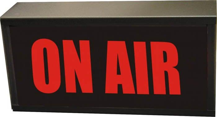 """24V DC LED """"ON AIR"""" Studio Warning Light"""