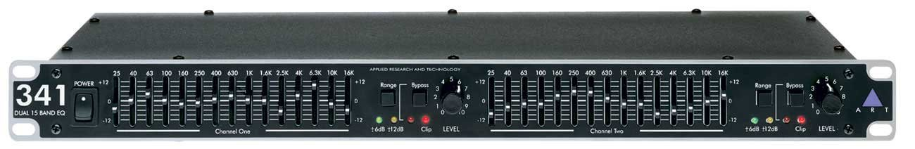 2-Channel15 Band Graphic Equalizer