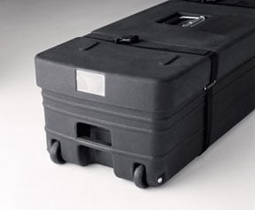 Polyethylene Case with Wheels for Standard Screens