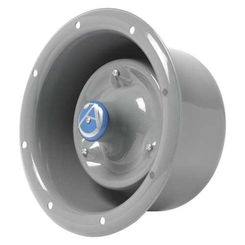 15 Watts at 8 Ohms Flanged Horn Loudspeaker in Grey