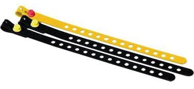 """Three 24"""" Rubber Cable Ties"""