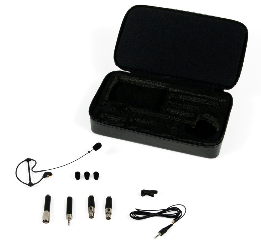 Omnidirectional Headset Microphone in Black