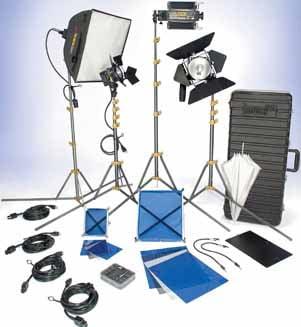 Lowel Light Mfg DV-9024Z DV Creator 44 Lighting Kit (with TO-84 Hard Case) DV-9024Z