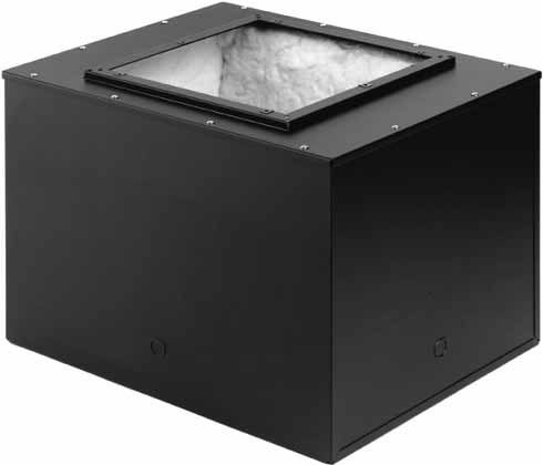 "2.9 cu. ft. Rectangular Acoustical Backbox (for 12"" Speakers)"