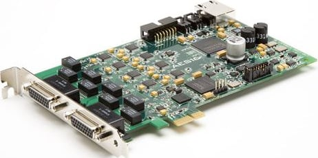 PCI Express AES/EBU Interface
