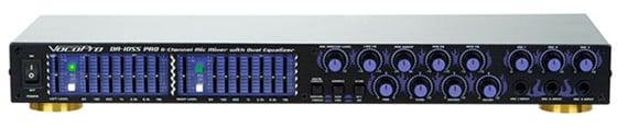 Mixer Mic/EQ, Up to 6 Mics