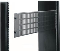 2-Space Econo Vented/Hinged Rack Access Panel
