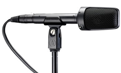 XY Stereo Condenser Microphone, Phantom-Powered