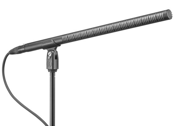 "Shotgun Microphone, Line + Gradient Mic, 15.55"" Long"